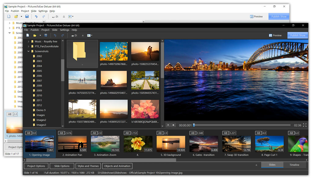 Full PTE AV Studio screenshot