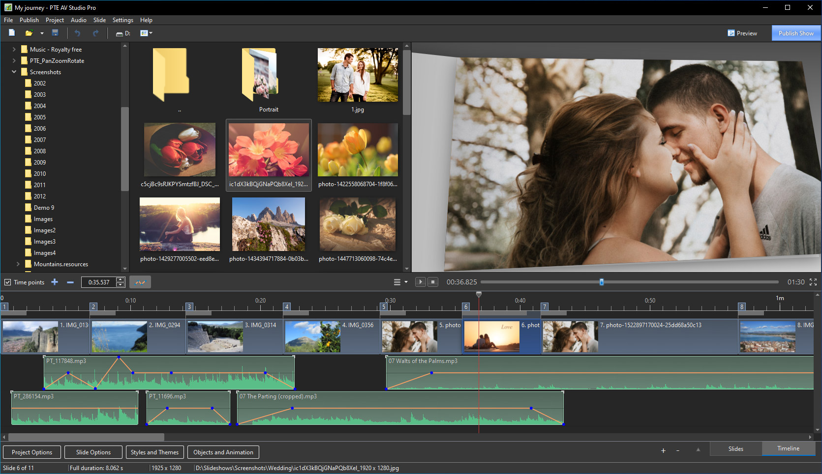 PTE AV Studio Pro 10.5.2 多國語言免安裝 - 專業照片幻燈片製作軟體 - 軟體吧