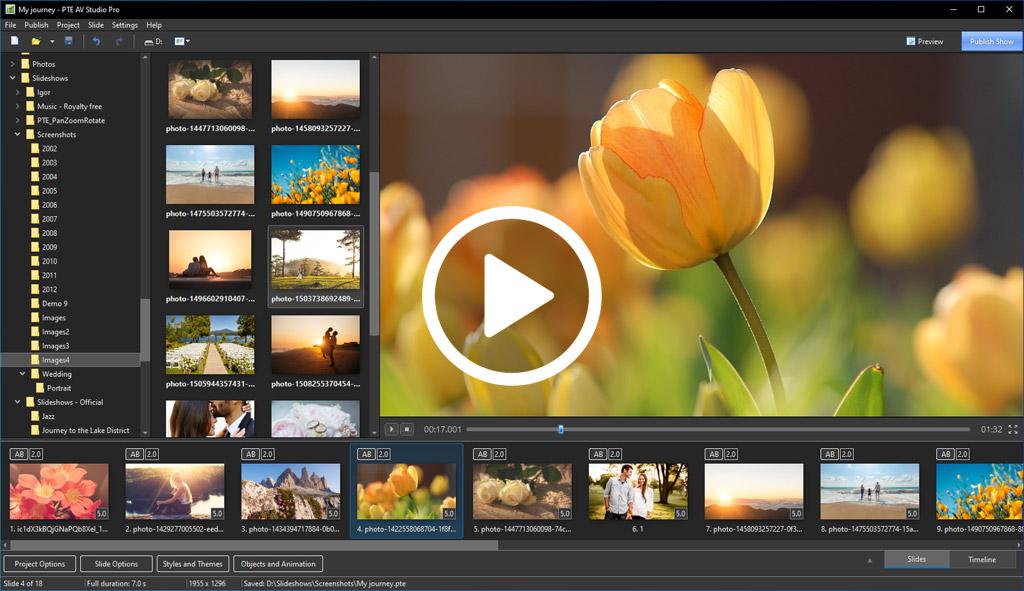 Slideshow Studio Full Version for Windows 7